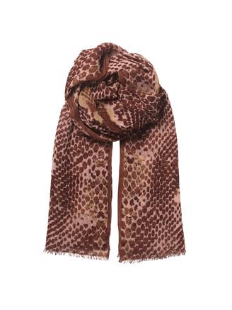 Russel Snake Scarf, Dusty Pink