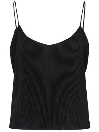 SLFCARRIE STRAP TOP - BLACK