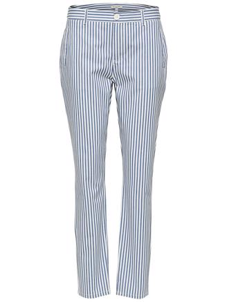 SLFMEGANA THAM CHINO - STRIPES