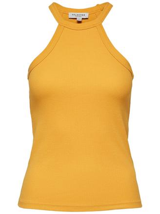 SLFMIMMI SL TOP - RADIANT YELLOW