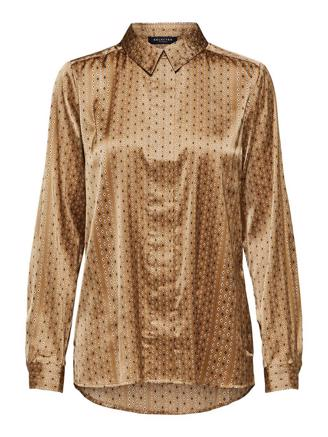 SlfMoni - Odette LS Shirt, Tigers Eye