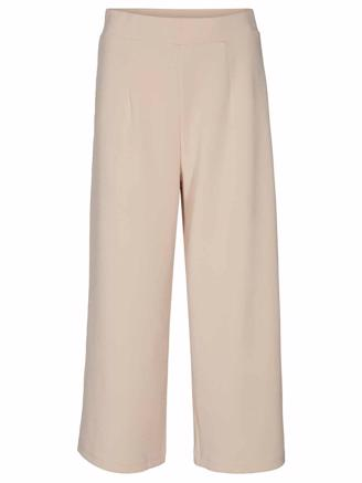 SLFTENNY MW CROPPED WIDE PANT - SANDSHELL