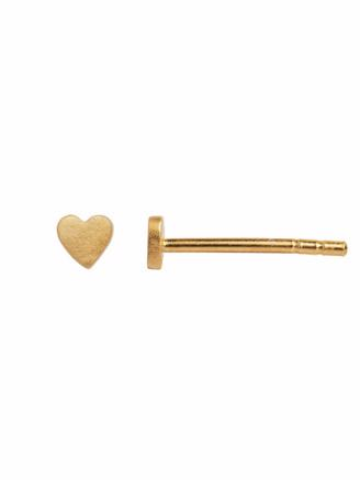 PETIT LOVE HEART EARRING GOLD - 1016-02