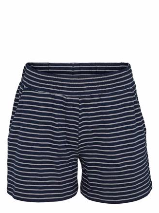 SAGA SHORTS - NAVY/WHITE