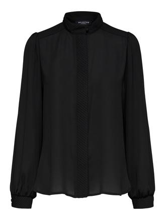 SlfAmaya LS Shirt - Black