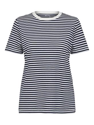 SLFMY PERFECT TEE - MARITIME BLUE STRIPES