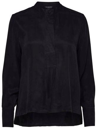 SLFRUTH LS TOP - BLACK