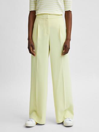SlfTinni MW Wide Pant, Young Wheat