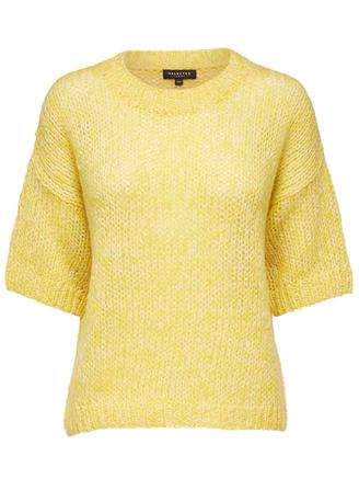 SLFMELLOW 2/4 KNIT - EMPIRE YELLOW