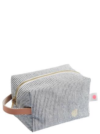 Small Cube Toiletry Bag Multistripe