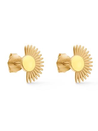 SOLEIL STUD - LIGHT YELLOW