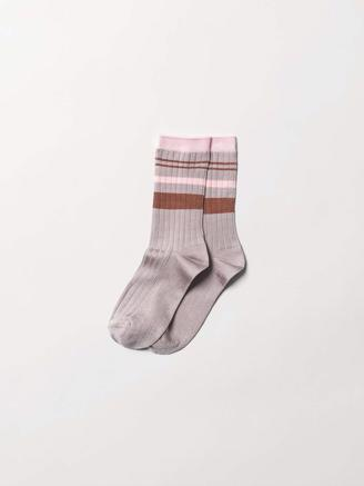 SPORTY RAINBIRD SOCK - ADOBE ROSE