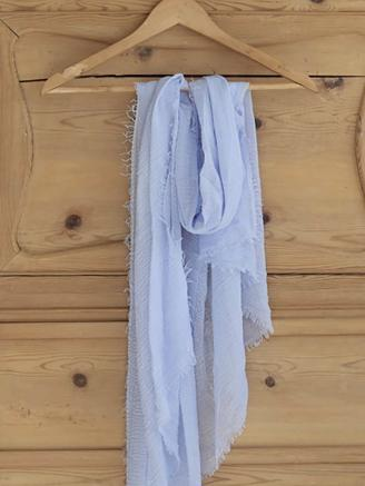 Sully Scarf - Light Blue
