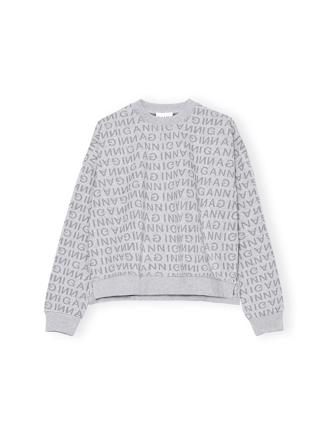 T2682 Dropped Shoulder Sweatshirt, Paloma Melange