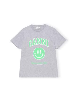 T2693 T-Shirt, Smiley, Phaloma Melange