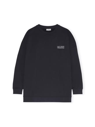 T2771 Oversized Sweatshirt, Black