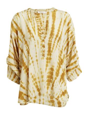 MAJBRIT - HEATWAVE BLOUSE - GOLD