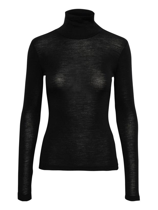 WILMAGZ ROLLNECK - BLACK