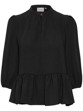 CENIAGZ BLOUSE - BLACK