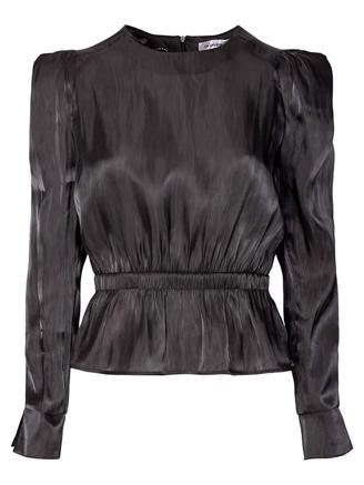 IDOL BLOUSE - BLACK