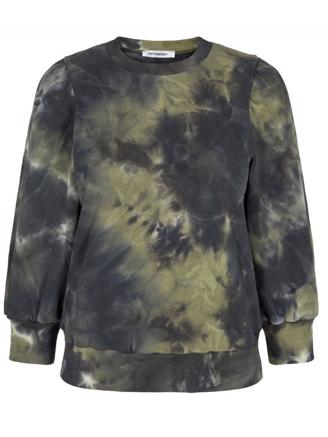 TIE DYE CHOP SWEAT - ARMY