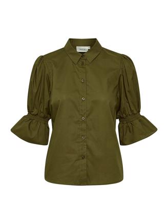 CassiaGZ shirt - Dark Olive