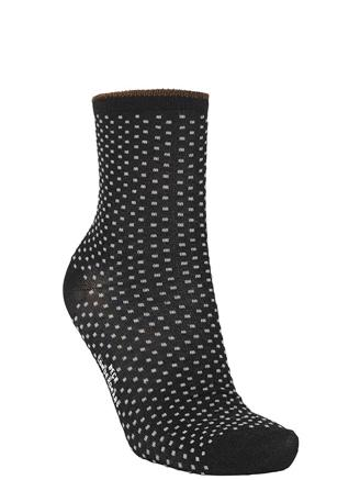 DINA SMALL DOTS - BLACK