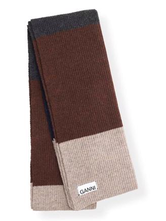 A2149 KNIT SCARF - MULTICOLOR