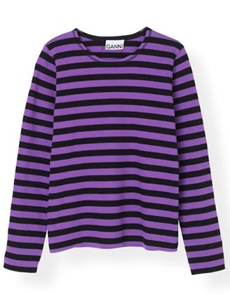 T2416 STRIPED COTTON JERSEY - DEEP