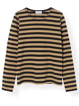 T2416 STRIPED COTTON JERSEY - TIGER