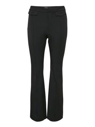 MILAGZ CEN FLARED PANTS MA19 - BLACK