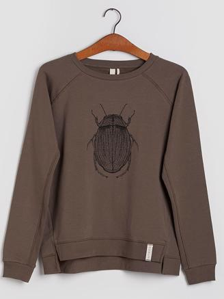 MARTHA SWEATSHIRT - MOREL