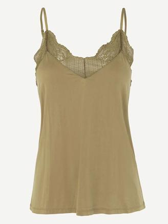 LINDA TOP 6202 - GREEN KHAKI
