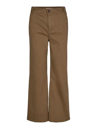 LUCIENNE FLARE PANT - WALNUT