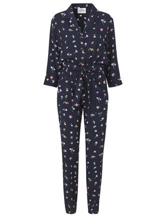 NIGHT GARDEN CENNA - NAVY FLOWER