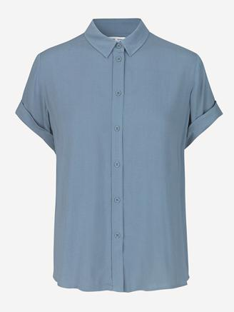 MAJAN SS SHIRT 9942 - BLUE MIRAGE