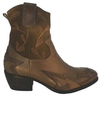 W8117 COWBOY BOOT - BROWN