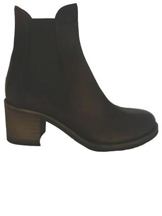 W8124 CHELSEA BOOT - BLACK NUBUCK