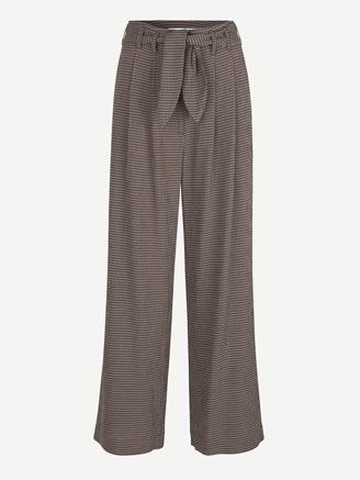 NELLIE TROUSERS - ARGAN CHECK