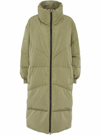 HEATHER DOWN JACKET - LIGHT ARMY