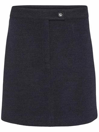 KENIA SKIRT - BLUE MELANGE