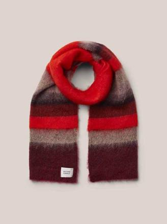 LUCCA KNIT SCARF - LYCHEE