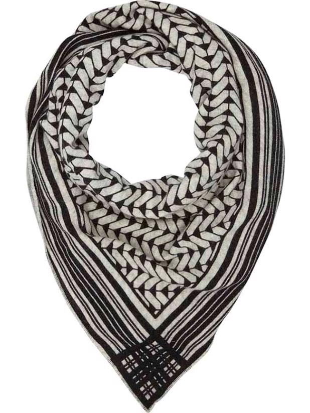 WARM SCARF - LIGHT GREY MELANGE