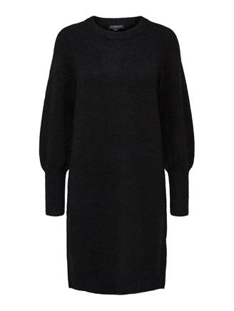 SLFKYLIE LS KNIT DRESS - BLACK