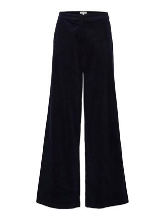 SLFADELE HW WIDE PANT - NIGHT SKY