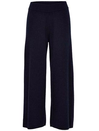 SLFEYA CASHMERE MW KNIT PANT-NIGHT
