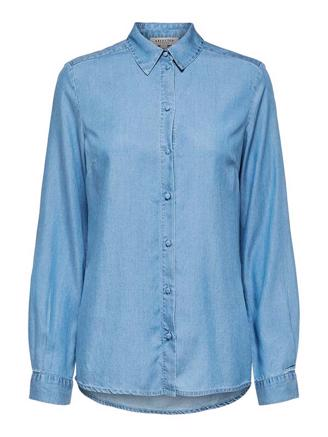 SLFMATTIE LS SHIRT - LIGHT BLUE