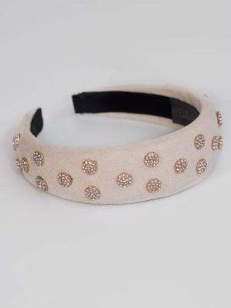 TIARA HAIRBAND - CREME